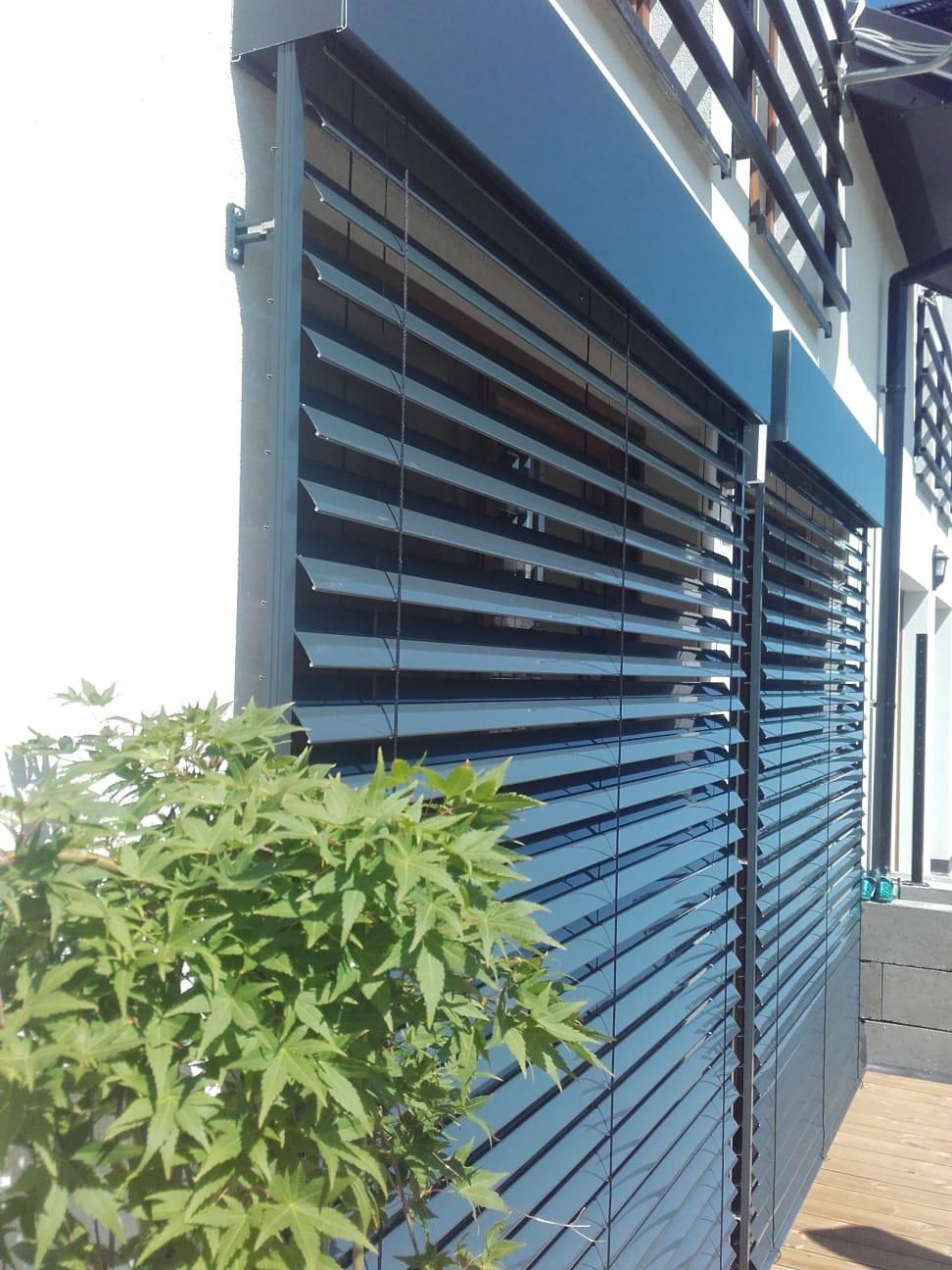 Żaluzje fasadowe Z90 - montaż Tarnów